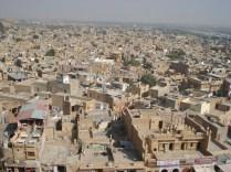Vista da cidade a partir do forte