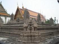 Réplica de Angkor Wat, o santuário mais sagrado para os Cambojanos.