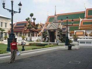 Chakri Mahaprasad, The Grand Palace Hall construído pelos britânicos como residência rela para Rama IV e mistura influências italianas e tailandesas