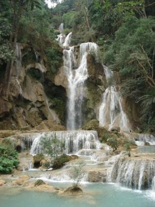 A cachoeira de verdade, onde começa a queda