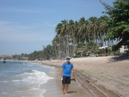 Um paraíso de praia que foi descoberta pelos mochileiros e agora está em plena expansão. Fomos para ficar dois dias e ficamos três.