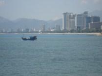 A caminho de outra atração, uma vista do Rio Cai e da cidade moderna