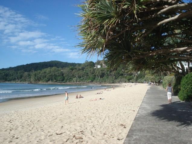 Main Beach – a praia que estávamos perto e que é a principal da cidade