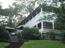 Halse Lodge onde ficamos