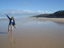 É areia demais, praia demais