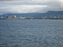 Cairns, vista do barco já voltando