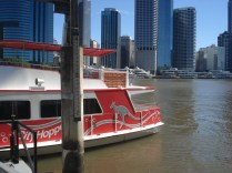 Nosso favorito meio de transporte: City Hopper, o barco grátis