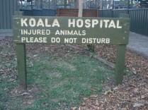 Entrada do Hospital