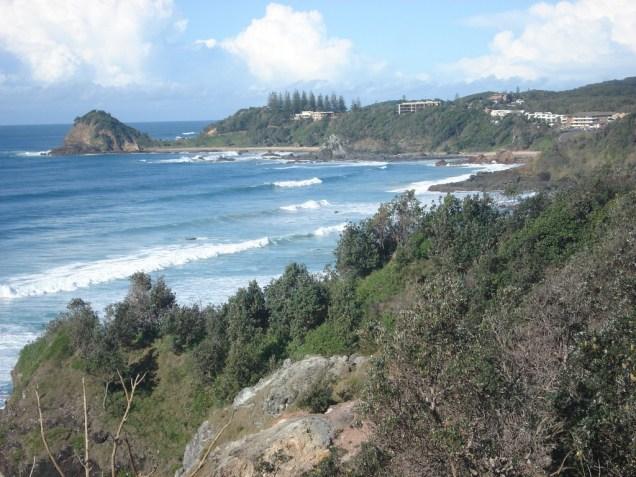 Town Beach, praia da cidade
