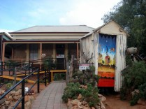 Silverton que é a cidade onde era toda a mineração da região e tem casas típicas do outback e típicas do período da mineração