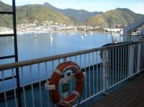 Travessia no ferry