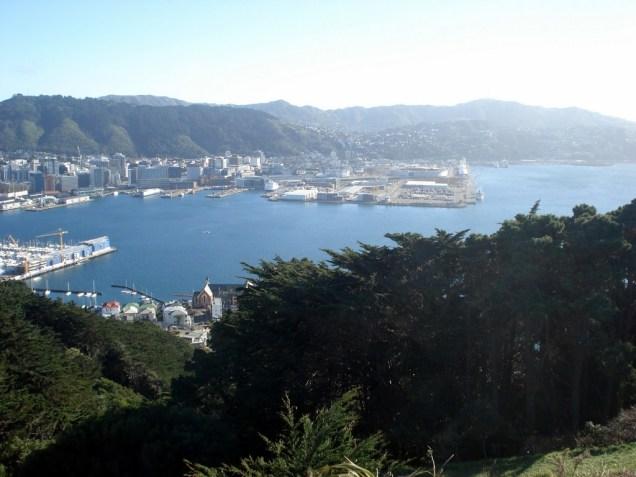 Wellington vista do Mt. Victoria