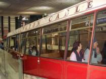 Saída do Cable Car