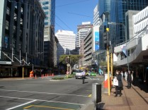 Horário de rush em Wellington