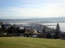 Vista da cidade a partir da Bluff Hill
