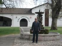 Vinícola Undurraga que fica a meia hora de Santiago e tem vinhos muito bons