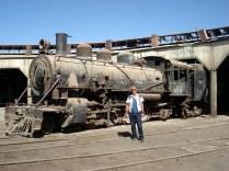 Trens antigos e imponentes. Todos ingleses