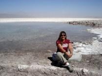E as lagoas que não evaporam porque é puro sal