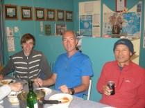 Mr. Kim – que preparou a comida, Carlos e Christian