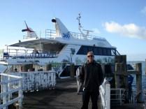Esse é o ferry, bonito e rápido