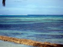 Esse era o nosso mar em frente ao camping