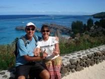 E foi onde fizemos nossa última contagem na viagem: 11 meses. 12 só no Brasil.
