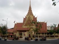 Palácio Real agora casa de sua majestade o Rei do Camboja