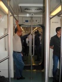 Metro por dentro