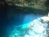 Cenote Chacsinicche. Um dos cenotes de Cuzama