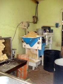 Feitas de puro milho moído e prensado. Milho branco.