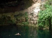 Zaci era o antigo nome de Valladolid que agora dá nome ao cenote