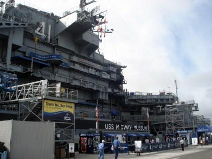 O USS Midway foi mais antigo porta-aviões dos Estados Unidos do século 20, de 1945 a 1992.