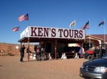 Entrada e local de espera para a excursão