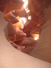 Os feixes de luz é que tornam este lugar é tão inesquecível