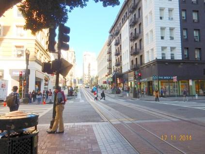 Chegada a Market Street