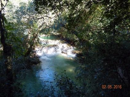 Uma das sete cachoeiras