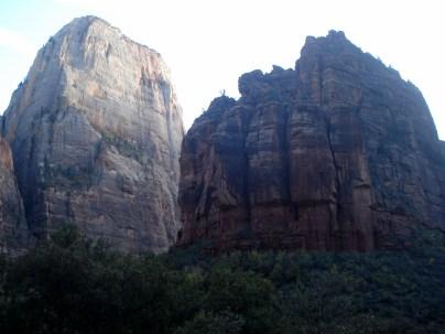 Falésias que elevam-se a quase trezentos metros