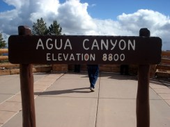 Quarta parada – Agua Canyon