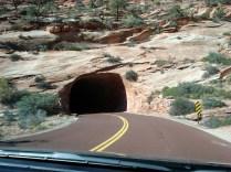 Túnel nas rochas