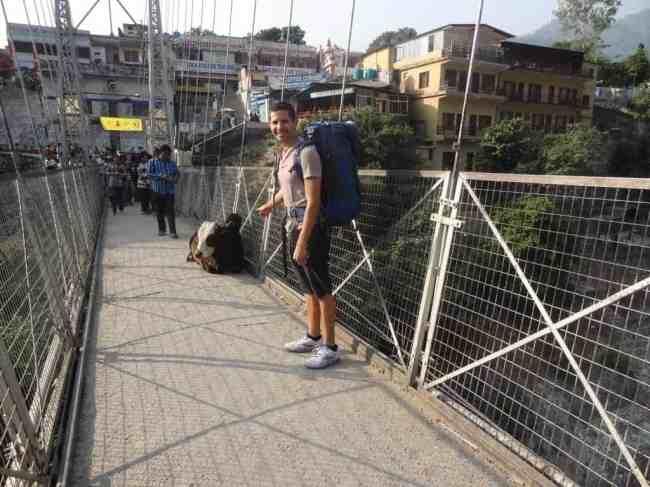 Arriving in Rishikesh
