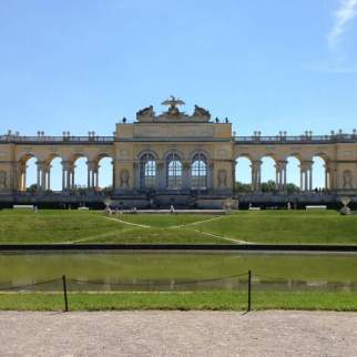 At the gardens of Schönbrunn Palace