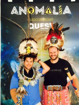 Alex & Teffie go Mayan @ Anomalia Quest