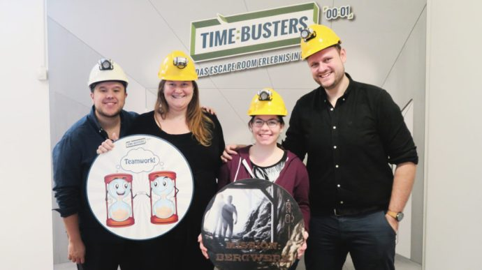 Time-Busters Vienna Mine Team