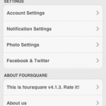 Rate Foursquare
