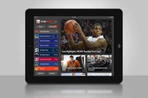 team stream on iPad