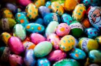 Easter eggs, April