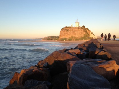 Nobby's lighthouse, Newcastle, June