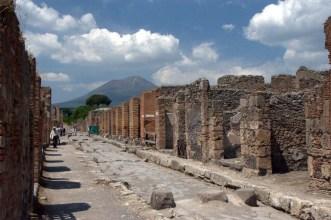 Ancient road of Pompeii