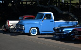 Blue truck, Caloundra