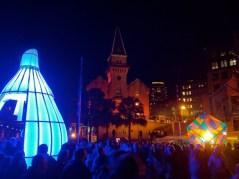 Blue light, Vivid Festival Sydney